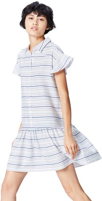 Private Label Amazon Brand - find. Women's Stripe Cotton Dress