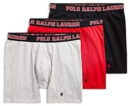 Polo Ralph Lauren Stretch 4D-Flex Breathable Mesh Boxer Briefs, Pack of 3