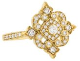 Penny Preville 18K Diamond Filigree Ring