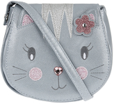 Accessorize Chloe Cat Shimmer Saddle Bag