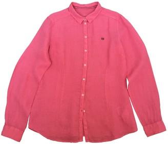 Napapijri Pink Linen Top for Women