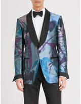 Tom Ford Shelton-fit Silk-jacquard Evening Jacket