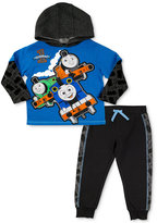 Nannette 2-Pc. Thomas The Tank-Print Hoodie and Pants Set, Toddler and Little Boys (2T-7)