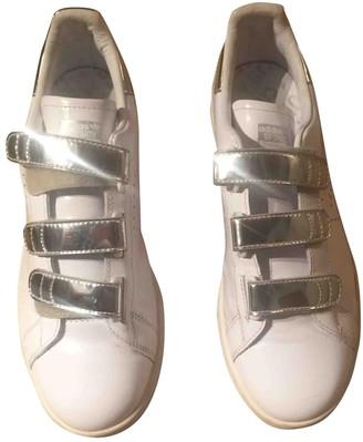 Raf Simons Adidas X \N White Leather Trainers