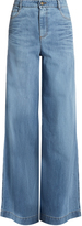 RED Valentino High-rise wide-leg jeans