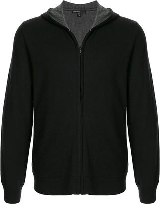 James Perse Knitted Zipped Hoodie