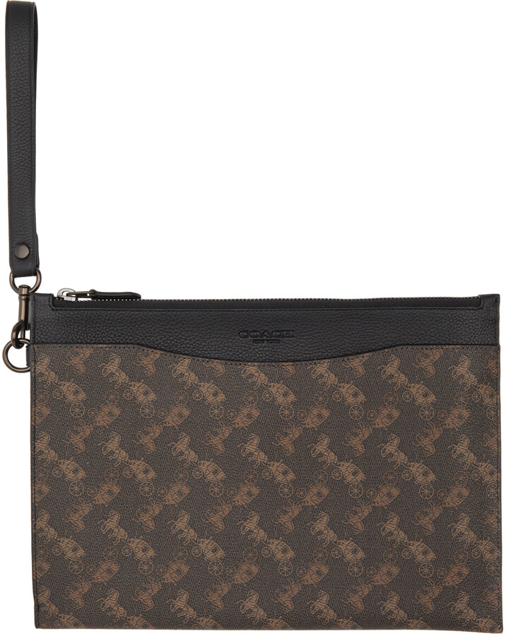 Coach 1941 Brown Horse & Carriage Hitch Pouch