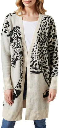 French Connection Cheetah Cardigan