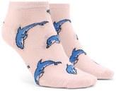 Forever 21 FOREVER 21+ Dolphin Print Ankle Socks