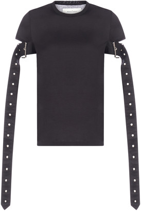 Marques Almeida MarquesAlmeida Belt-sleeves Cotton T-shirt