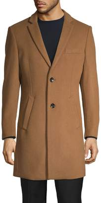 1670 Samson Wool-Blend Single-Breasted Coat