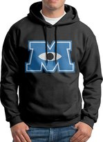 ENshirt Monsters University Logo Men's Long Sleeve Hoodie Hooded Sweatshirt