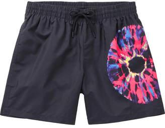 Dries Van Noten Mid-Length Printed Swim Shorts