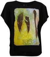 Watts Black Woman Short-sleeve T-shirt Patta.