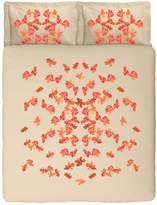 Butterflies Printed Duvet Cover Set