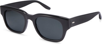 Barton Perreira Men's Domino Square Solid Acetate Sunglasses