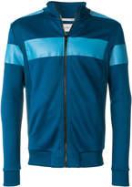 Calvin Klein Jeans contrast zip-up sweatshirt