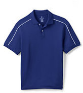 Classic Men's Regular Short Sleeve Piped Active Polo-Berry Wreath