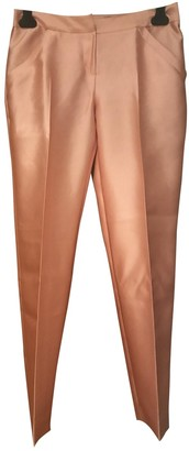 Christian Dior Silk Trousers for Women