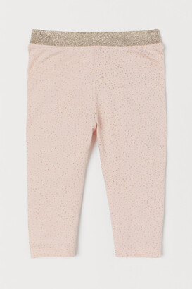 H&M Glittery Leggings