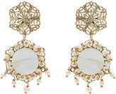 Rosantica Corte earrings with pearl