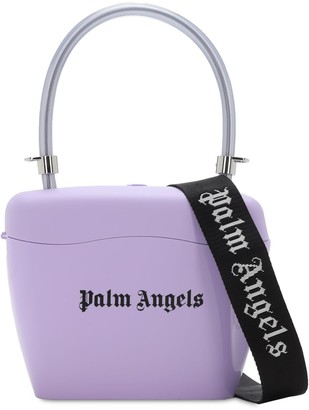 Palm Angels Logo Print Top Handle Bag