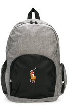 Ralph Lauren color block logo backpack
