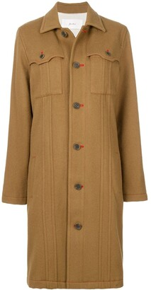 Julien David Pocket Detail Coat