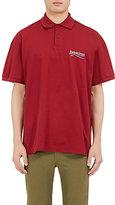 Balenciaga Men's Logo Cotton Polo Shirt