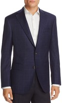 Jack Victor Tonal Gingham Classic Fit Sport Coat