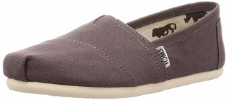 Toms Women's 001001b07-grey Ash Canvas Alpargata Flat 7.5 M US