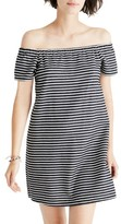 Madewell Women's Mimi Stripe Off The Shoulder Minidress