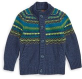 Tea Collection Toddler Boy's Crosbie Cardigan