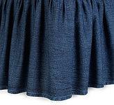 Studio D Trista Ruffled Denim Bedskirt