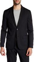 Kenneth Cole New York Slim Fit Two Button Blazer