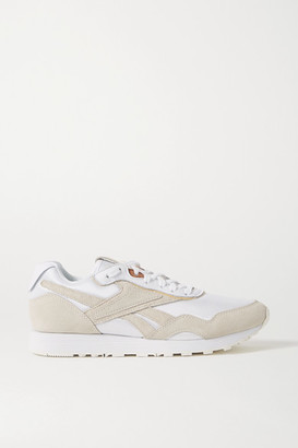 Reebok x Victoria Beckham Rapide Mesh, Suede And Leather Sneakers - White