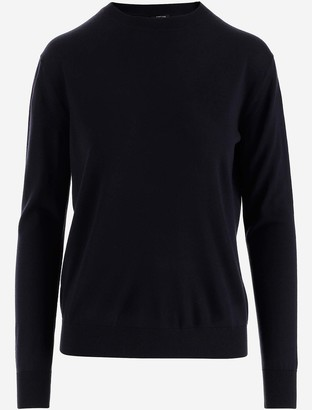 Aspesi Deep Blue Wool Women's Jumper