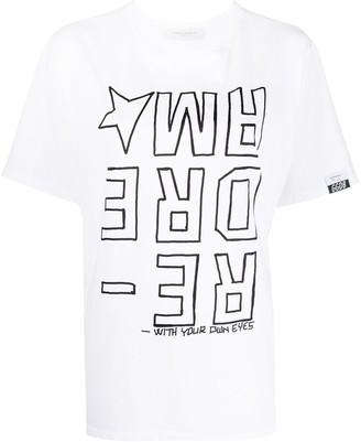 Golden Goose Redream-print T-shirt