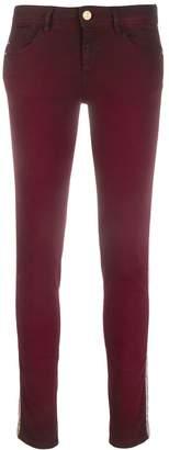 Just Cavalli skinny snake stripe jeans