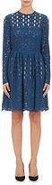 Lanvin WOMEN'S COTTON-BLEND FIT & FLARE DRESS