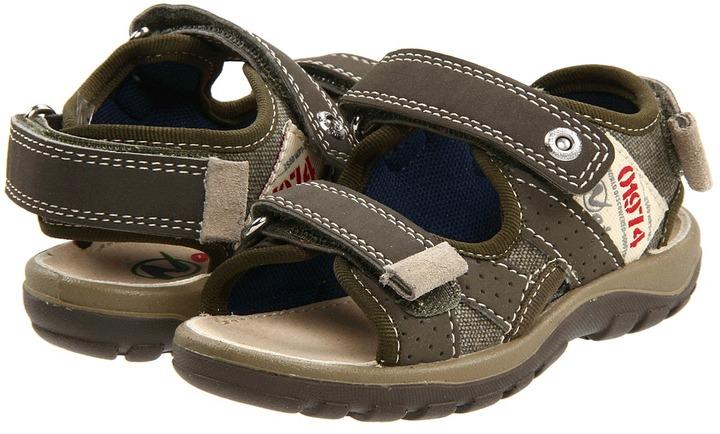 Naturino Nat 5615 SP12 (Toddler/Youth) (Khaki) - Footwear