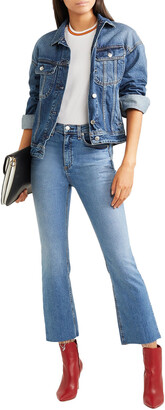 Rag & Bone Hana Faded High-rise Kick-flare Jeans