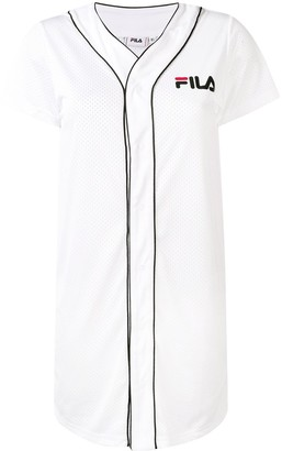 Fila logo jersey dress