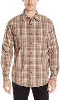 Wrangler Men's Long Sleeve Canvas Shirt