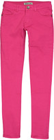 Couture Miss Kitty Women's Denim Pants and Jeans Fushia - Fuschia Low-Rise Skinny Jeans - Juniors