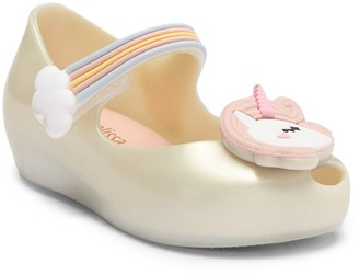 Mini Melissa Ultragirl Unicorn Jelly Flat (Toddler)