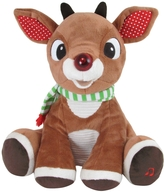 Kids Preferred Rudolph Plush with Music and Lights