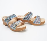 Dansko Leather Double Buckle Sandals - Sophie