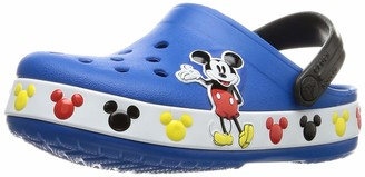 Crocs Kids' Fun Lab Disney Clog | Mickey Mouse and Minnie Mouse Shoes for Kids