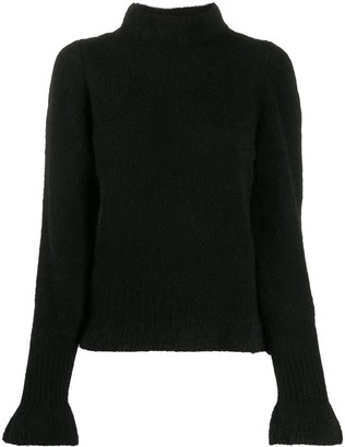 Societe Anonyme Bell-Sleeve Knit Jumper